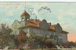 LONG BEACH , California, 1913 ; Pine Avenue School