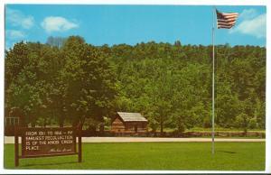 Abraham Lincoln's Boyhood Home, Knob Creek, Hodgenville, KY