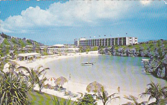 Bermuda Southampton Beach Pavilion Adjoining Sonesta Hotel 1971
