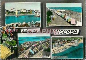 Postcard Modern Saluti da Viserba