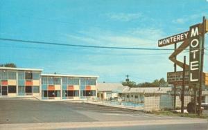 Monterey Motel & Restaurant, Nashville, Tennessee 1960s u...