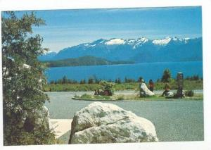 View, From Manapouri Inn, Lake Manapouri, New Zealand 60-70s
