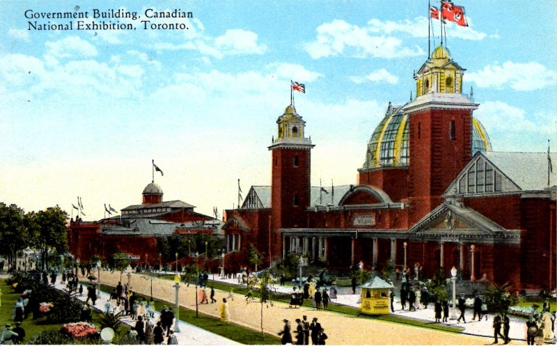 Toronto, Canada - Government Building at the Canadian Nat'l Exhibition  - c1908