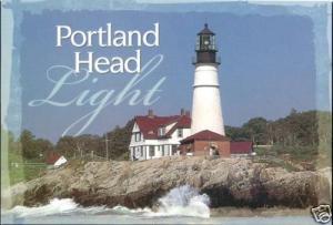 Cape Elizabeth, Maine, Portland Head Light, Lighthouse (1980s)