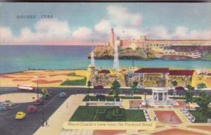 Cuba Havana Morro Castle View From Packard Hotel