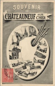 CPA CHATEAUNEUF-sur-CHER-L'Hermitage (26783)