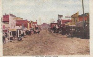 GOLDFIELD , Nevada , 1900-10s ; Main Street