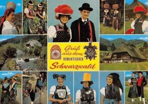 Gruess aus dem Romantischen Schwarzwald multiviews People Traditional Costumes