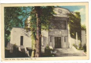 SOREL, Quebec, Canada, PU-1948; City Hall