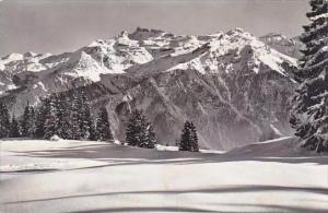 Switzerland Kaerpfstoecke vom Hahnenbuehl Real Photo