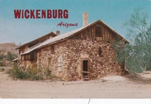 Arizona Wickenburg Old Rock House At Vulture Gold Mine
