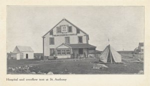 LABRADOR , Canada , 1900-10s ; St. Anthony Hospital & Over Flow Tent
