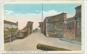 Old Fort Marion, St Augustine FL