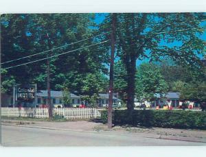 Pre-1980 MOTEL SCENE Hyde Park - Near Poughkeepsie New York NY AD9484