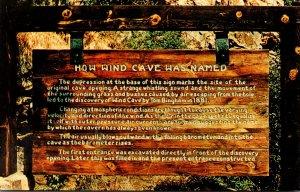 South Dakota Black Hills Wind Cave National Park History Sign