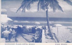 Florida Miami Beach Normandy Plaza Hotel Beach