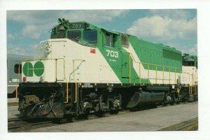 Vintage Trains Postcard PC8 #C43