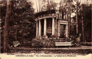 CPA Ermenonville- Le Temple de la Philosophie FRANCE (1020477)