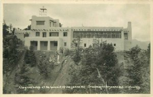 Broadmoor Cheyenne Lodge Colorado 1920s RPPC Photo Postcard Highway 11111