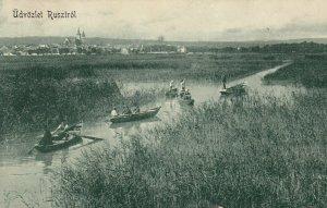 Udvozlet Rusztrol , Hungary , 1923