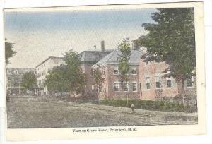 View On Grove Street, Peterboro, New Hampshire, PU-1922