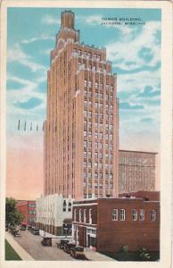 Mississippi Jackson Tower Building 1933
