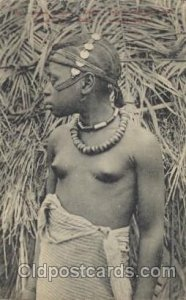 France, Algerie African Nude Unused