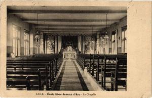 CPA LILLE-École libre Jeanne d'Arc La Chapelle (422976)