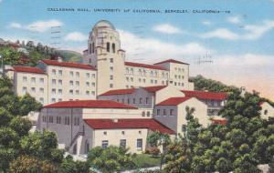 Callaghan Hall, University of California, Berkeley, California,  PU-1945
