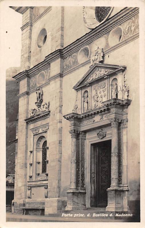 Italy Porta princ. d. Basilica d. Madonna