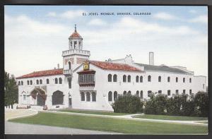 El Jebel Mosque Denver CO Post Card 3999