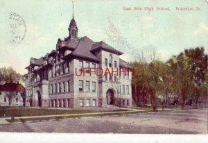 1908 EAST SIDE HIGH SCHOOL, WATERLOO, IA