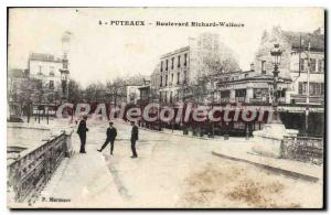 Postcard Old Boulevard Richard Wallace Puteaux