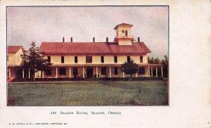 Seaside House, Seaside, Oregon, early postcard, used in 1914