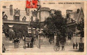 CPA Paris 5e-Hotel et Musée de Cluny (323884)