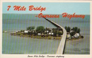 Florida Seven Mile Bridge Over Pigeon Key In The Florida Keys