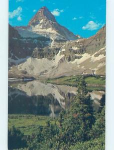 Unused Pre-1980 LAKE SCENE Banff National Park Alberta AB F3517