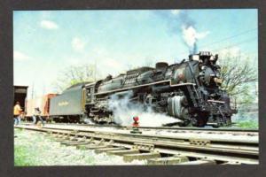 IL Toledo Peoria & Western RR Train WATSEKA ILLINOIS PC