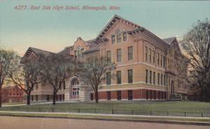 MINNEAPOLIS, Minnesota, 1900-1910´s; East Side High School