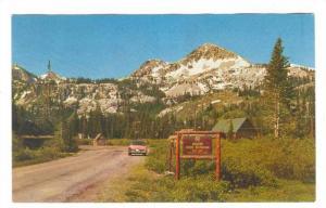Brighton Snow-capped Rim, Forest Playground, Utah, 40-60s