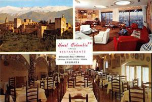 Granada Antequeruela Baja Hotel Colombia and Tipico Restaurant Multiview