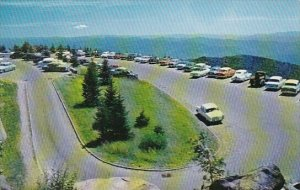 Parking Area At Clingmans Dome Great Smoky Mountains National Park Tennessee