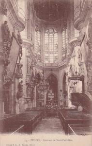 France Troyes Interieur de Saint-Pantaleon