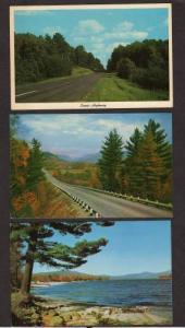 PA Lot 3 Greetings ROCKHILL FURNACE PENN Postcards Pennsylvania