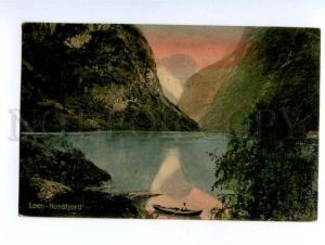 138768 Norge Norway LOEN Nordfjord Vintage RPPC to RUSSIA