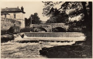 RP: TAVISTOCK, England, 1958 ; The Weir & Bridge