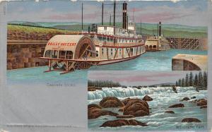 3952 Steamer Bailey Gatzert of Portland in Cascade Locks