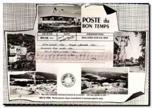 Postcard Modern tlbenne Mont D'Or Doubs
