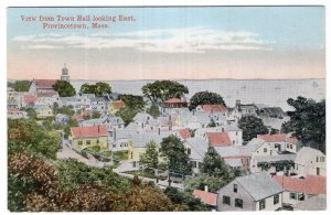 Provincetown, Mass, View from Town Hall looking East