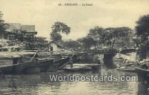 Vietnam, Viet Nam,  Nhân Vật Cholon Le Canal